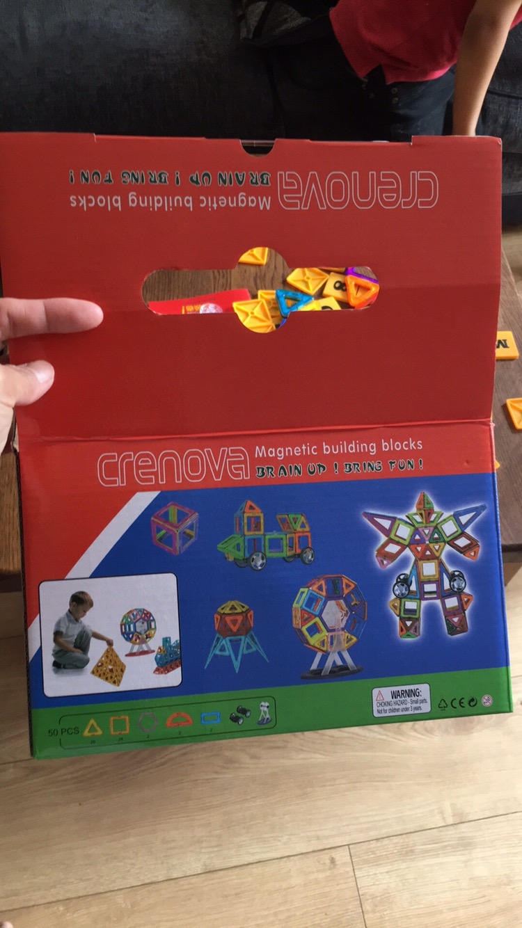 Crenova Magnetic Building Blocks